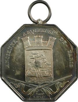Paris, Cercle des Carabiniers, Ancienne arquebuse de Paris, par Rogat, 1846 Paris