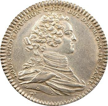 Artillerie, Louis-Charles de Bourbon-Eu, 1750