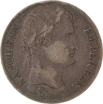 Premier Empire, 5 francs République, 1808 Rouen