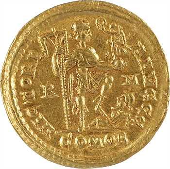 Honorius, solidus, Rome, 404-408