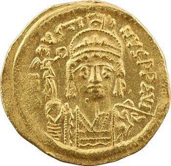 Justin II, solidus, Constantinople, 10e officine, 575-578