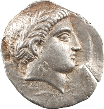 Péonie (Royaume de), Patraos, tétradrachme, Damastion, c.335-315 av. J.-C.