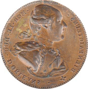 Constitution, Mgr le Duc Philippe d'Orléans, coin du droit, s.d. Paris
