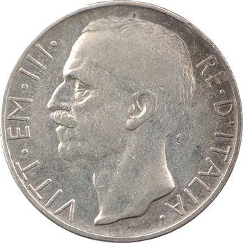 Italie (royaume d'), Victor-Emmanuel III, 10 lire, 1929 Rome