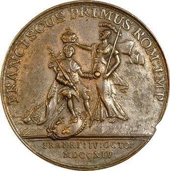Saint Empire, François-Étienne de Lorraine élu empereur, 1745 Vienne