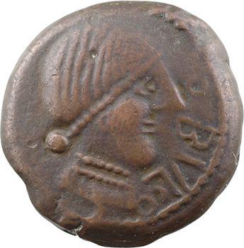 Espagne, Obulco, double unité de bronze, s.d. (fin du IIe s. av. J.-C.) Porcuna (Jaén)