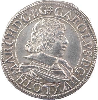 Lorraine (duché de), Charles IV, teston, 1629 Nancy
