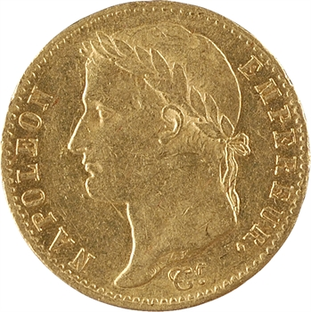 Cent-Jours, 20 francs Empire, 1815 Paris