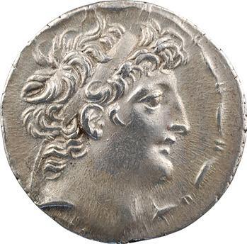 Syrie, Antiochus VIII, tétradrachme, Ptolémaïs (Ake), c.115-113 av. J.-C
