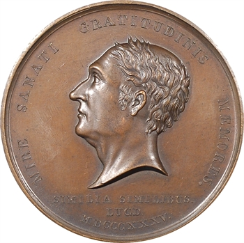 Louis-Philippe Ier, homéopathie du Docteur Sébastien Des Guidi, 1830 Paris (médecine)