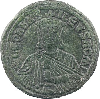 Léon VI, follis type 3, Constantinople, 886-912