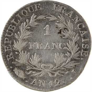 Consulat, 1 franc, An 12 Limoges