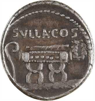 Pompeia, denier, Rome, 54 av. J.-C