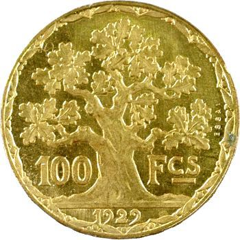 IIIe République, essai de 100 francs Vernon, Paris 1929 Paris