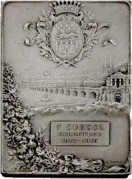 IIIe République, Caisse d'épargne de Bordeaux, par H. Dubois, 1915 Paris