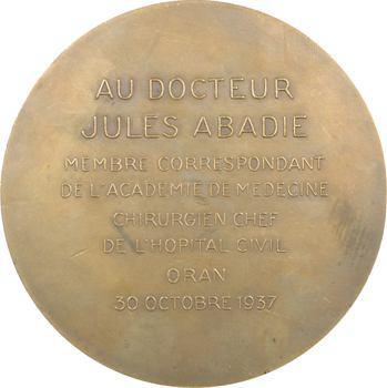 Algérie, Dr Jules Abadie, chirurgien chef de l'hôpital d'Oran, par de Hérain