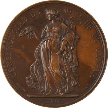 Suisse, prix du Conservatoire de Musique de Genève, par Bovy, s.d