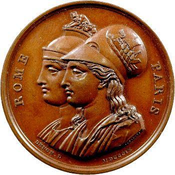 Premier Empire, Rome seconde capitale de l'Empire, 1809