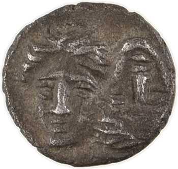 Thrace, Istros, hémiobole (delta-I), IVe s. av. J.-C
