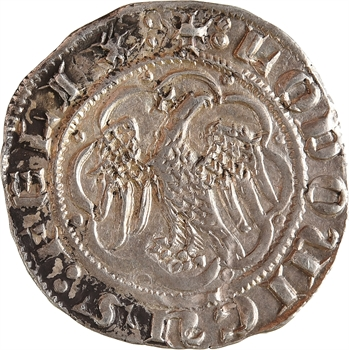 Italie, Sicile (royaume de), Louis d'Aragon, pierreale, s.d. (1342-1355) Messine