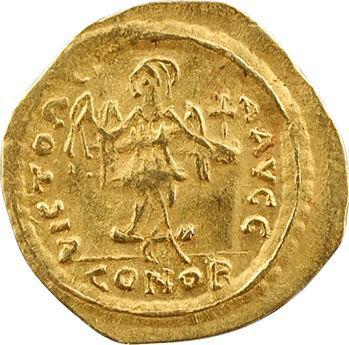 Maurice Tibère, semissis, Ravenne, 594-595 ?