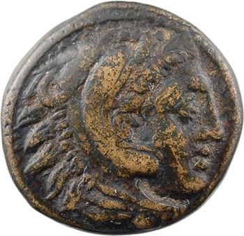 Macédoine, Cassandre (Régent puis Roi), bronze ou dichalque, c.306-297 avant J.-C