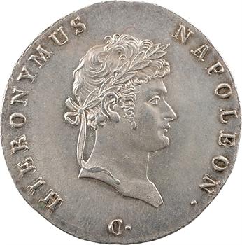 Allemagne, Westphalie (royaume de), Jérôme Napoléon, 2/3 de thaler, 1811 Clausthal