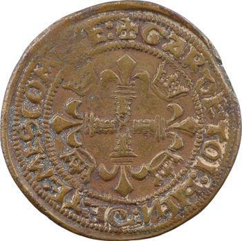 Berry, jeton de la chambre des comptes de Bourges, s.d. (XVIe s.)