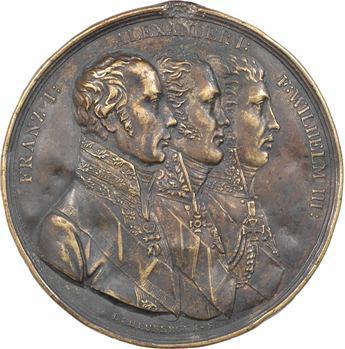Russie, l'Alliance des trois monarques, cliché par L. Heuberger, c.1815