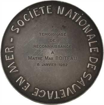 Ve République, la Société Nationale de Sauvetage en Mer à Max Boiteau, 1976 (1982) Paris