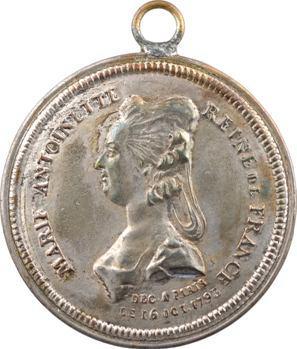 Marie-Antoinette, dans le style de Palloy, s.d. (Directoire)