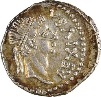 Maurétanie, Juba II, denier, Caesarea, c.16-17