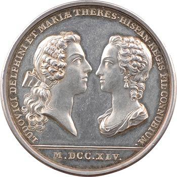 Louis XV, premier mariage du dauphin Louis Ferdinand de France et de Marie-Thérèse d'Espagne, 1745 Paris