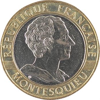 Ve République, essai de 10 francs Montesquieu, 1989 Pessac