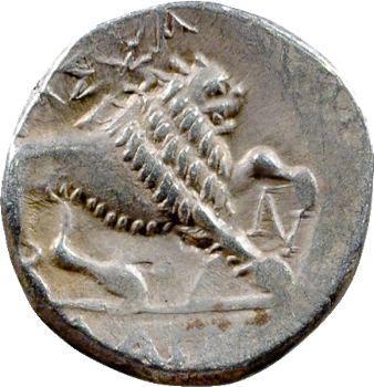 Marseille, drachme B/N, 121-49 av. J.-C