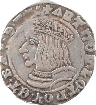 Lorraine (duché de), Antoine, quart de teston, 1542 (154Z) Nancy