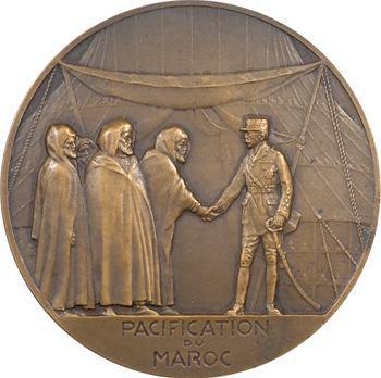 Maroc, Maréchal Lyautey par Dropsy, pacification du Maroc, 1925 Paris
