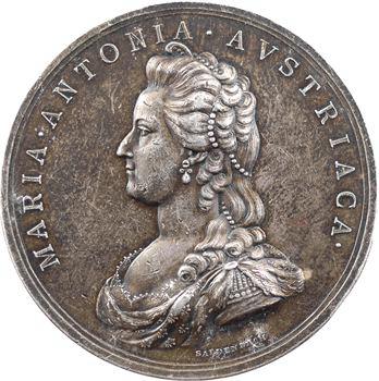 Marie Antoinette, victime des factieux, par Baldenbach, 1793 Vienne