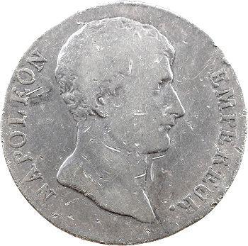 Premier Empire, 5 francs buste intermédiaire, An 12 Limoges