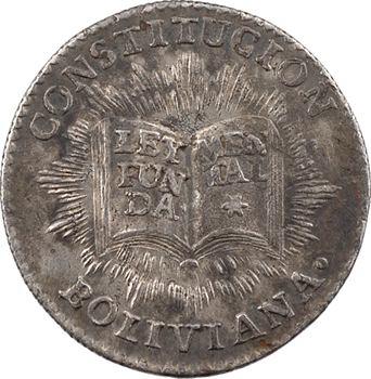 Bolivie, proclamation de la Constitution, 1831