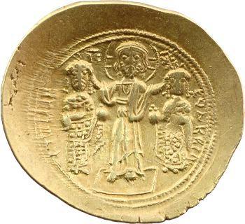 Romain IV et Eudoxia, histamenon scyphate, Constantinople, 1068-1071