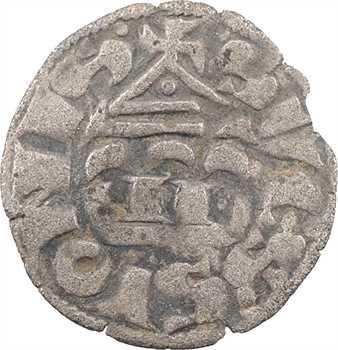 Soissons (comté de), Jean II à Jean V, denier, s.d. (XIIIe s.) Soissons