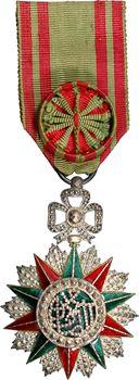 Tunisie, Ordre du Nichan al Iftikhar, insigne d'Officier