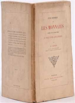 Laugier (M.), Étude historique des monnaies frappées par les Grands Maîtres de l'Ordre de Saint Jean de Jérusalem, Marseille 1868