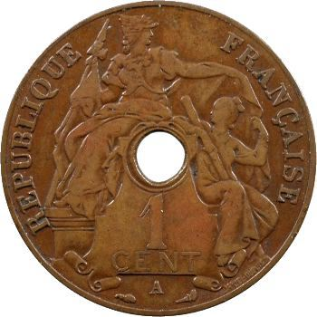 Indochine, 1 centième, 1931 Paris