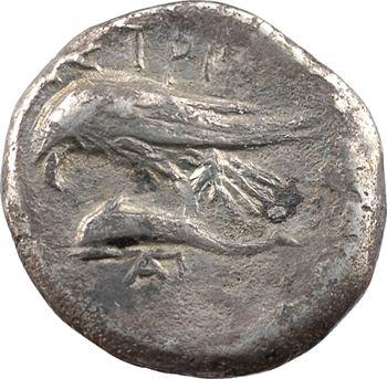 Thrace, Istros, drachme (A-P), IVe s. av. J.-C.