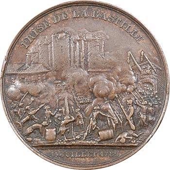 Louis-Philippe Ier, prise de la Bastille et du Donjon de Vincennes, 1844 Paris