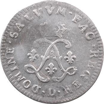 Louis XIV, quadruple sol aux deux L, 1692 Lyon