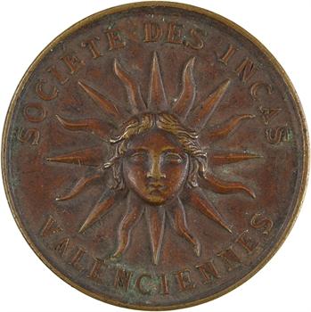 Valenciennes, la Société des Incas, 1866 Paris
