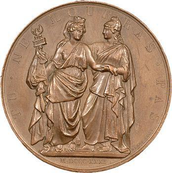 Louis-Philippe Ier, pour la Pologne, médaille de Barre, 1831